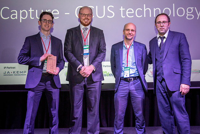 C-Capture Wins Breakthrough of the Year Award at Business Green's Technology Festival